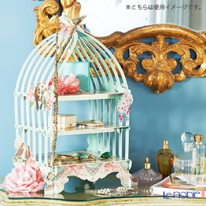 トーキングテーブルズ ケーキスタンド3段 鳥かご ブルー(グリーン)  2376円