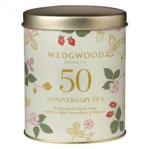 【ワイルドストロベリー発売50周年記念】ウェッジウッド の紅茶 ワイルドストロベリーシリーズ アニバーサリー ティー 1,800円 (税込 1,944 円)
