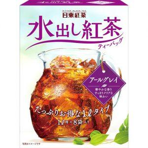 スーパーでもよく見かける日東紅茶の水出し紅茶。こちらもアイスティーにはアールグレイがおすすめです。 日東紅茶 水出し紅茶 アールグレイ 1L用ティーバッグ 8gX8袋 356円(税込)
