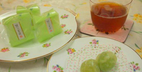 <紅茶とお菓子のマリアージュ>贅沢!マスカテルフレーバーとマスカット