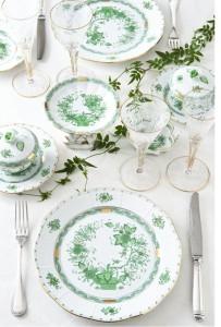 fleurs des indes vertes