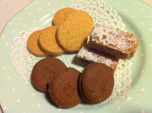 クッキーも最高の組み合わせのひとつ。こちらは溜池山王のツッカベッカカライカヤヌマのクッキーです。