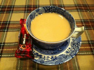 ミルクティーとショートブレッドはベストマッチですね。