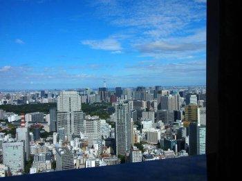 窓際の席だったので、素晴らしい景観も楽しめました。