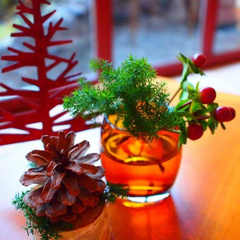 軽井沢ホテルブレストンコートのラウンジでは季節のデザートコースという素敵なメニューがあります。