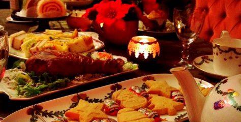 2015クリスマスティーパーティー!今年も紅茶仲間とクリスマスを楽しみました。