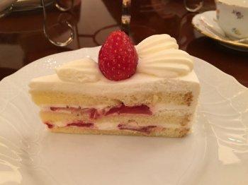 私はショートケーキにしました。