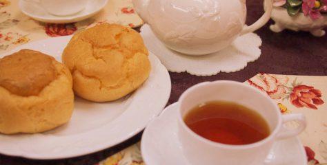<紅茶とお菓子のマリアージュ>シュークリームに合う紅茶は?