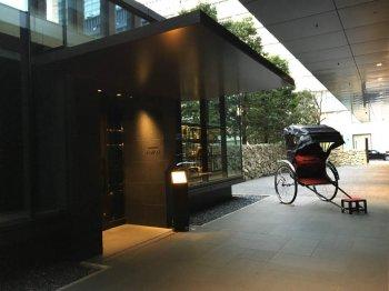 アマン東京では1Fにあるカフェでもアフタヌーンティーが楽しめます。