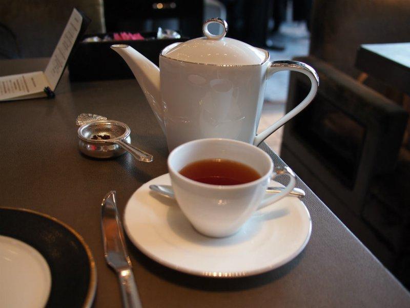 シャンブリ・ラのピャチェーレの紅茶はとっても美味しかったです。