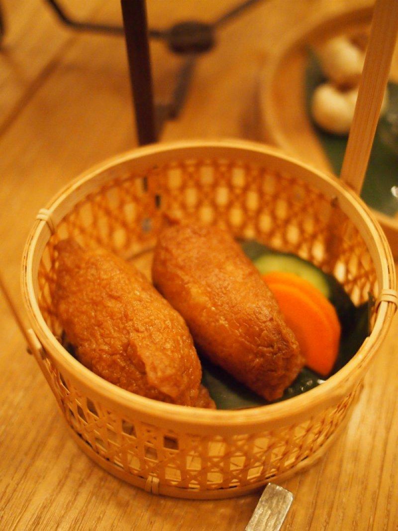 HIGASHIYA GINZAアフタヌーンティー別皿のセイボリー