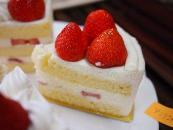 アンリ・シャルパンティエのショートケーキ