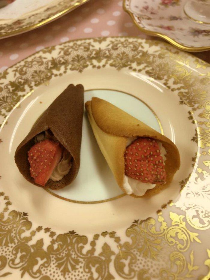 チョコレート味のグレイシアとプレーンのグレイシア