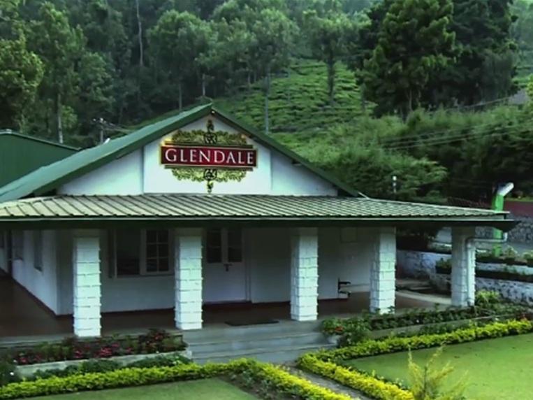 グレンデール茶園の工場