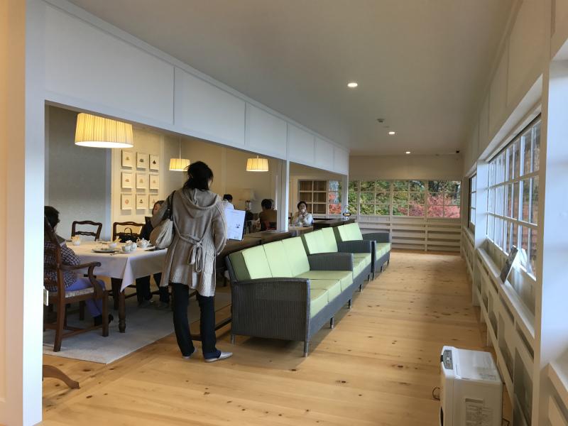 Tea Room 南4番Classicは2階の奥にあります。
