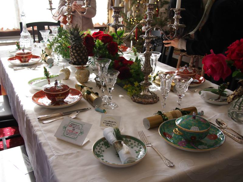 横浜市イギリス館のテーマはヴィクトリアン時代のクリスマス。