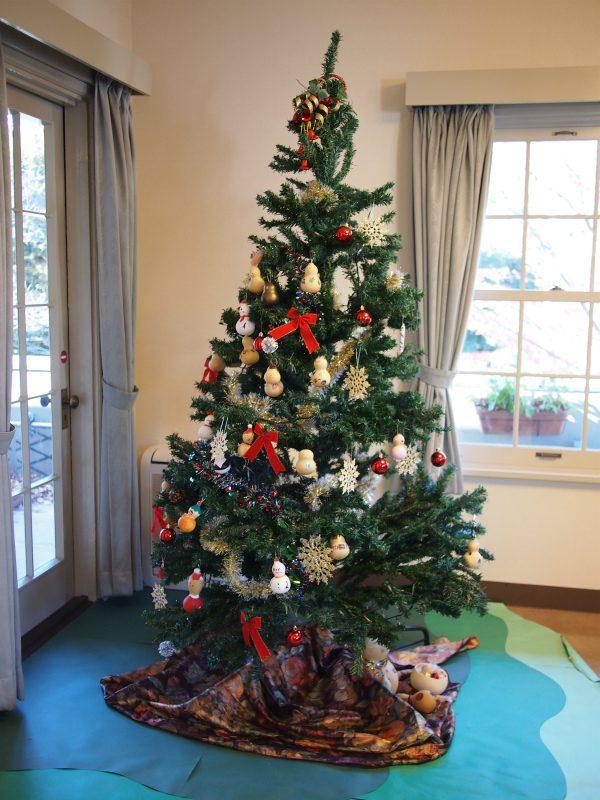 山手234番館のクリスマスツリー