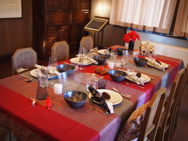 エリスマン邸のテーマはフィンランドのクリスマス。