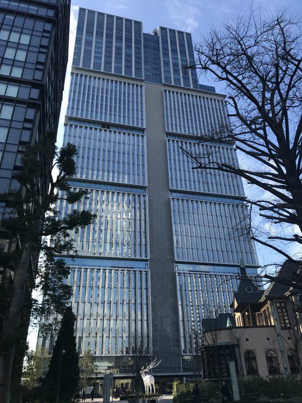 赤坂プリンス跡地には紀尾井町タワーが建っています。