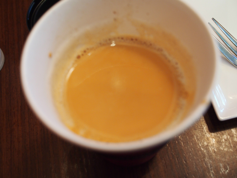 紅茶の色がしっかり出ています!これは美味しそう!