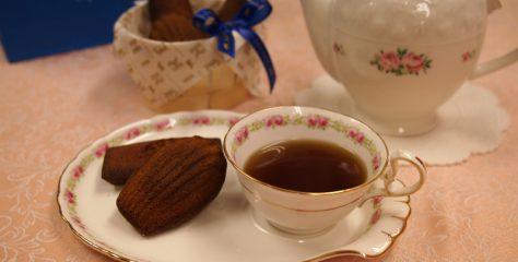 <紅茶とお菓子のマリアージュ>エシレのフィナンシェとマドレーヌに合う紅茶は?