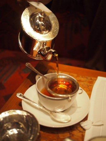 ペニンシュラ アフタヌーンティーの紅茶アッサム