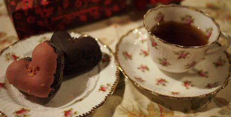 <紅茶とお菓子のマリアージュ>ラ・ メゾン アンソレイユターブルのハートのベイクドショコラに合う紅茶は?