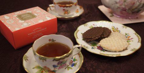 <紅茶とお菓子のマリアージュ>Afternoon Teaのワッフルショコラサンドに合う紅茶は