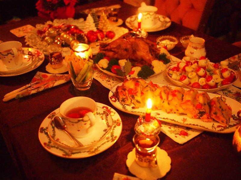 2016クリスマスティーパーティー。今年も紅茶仲間とクリスマスを過ごしました。