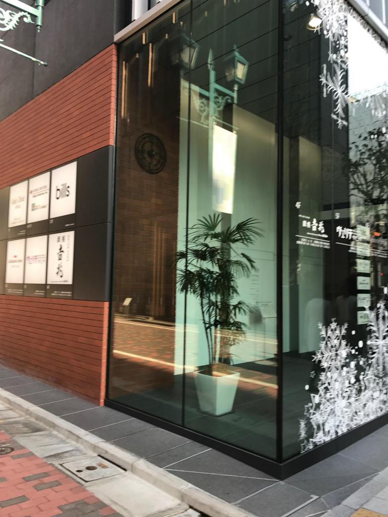ビルズ銀座は2016年10月にopenしたOkura Houseの12Fにあります。