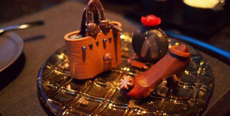 アマン東京ザ・ラウンジbyアマンのアフタヌーンティーのチョコレート