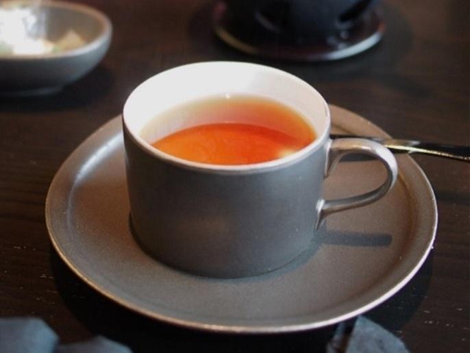 アマン東京ザ・ラウンジbyアマンのアフタヌーンティーの紅茶01
