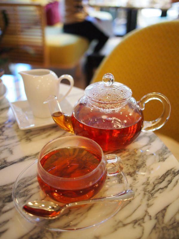日比谷パレスのアフタヌーンティーの紅茶アッサム
