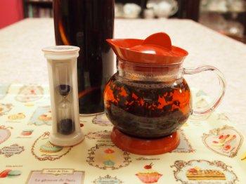 モルドワインティーの作り方6紅茶を淹れる
