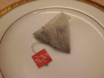 紙で作られたティーバッグ