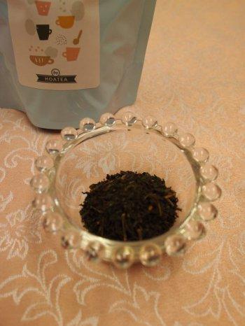 ティーストアー子持ち紅茶茶葉の様子