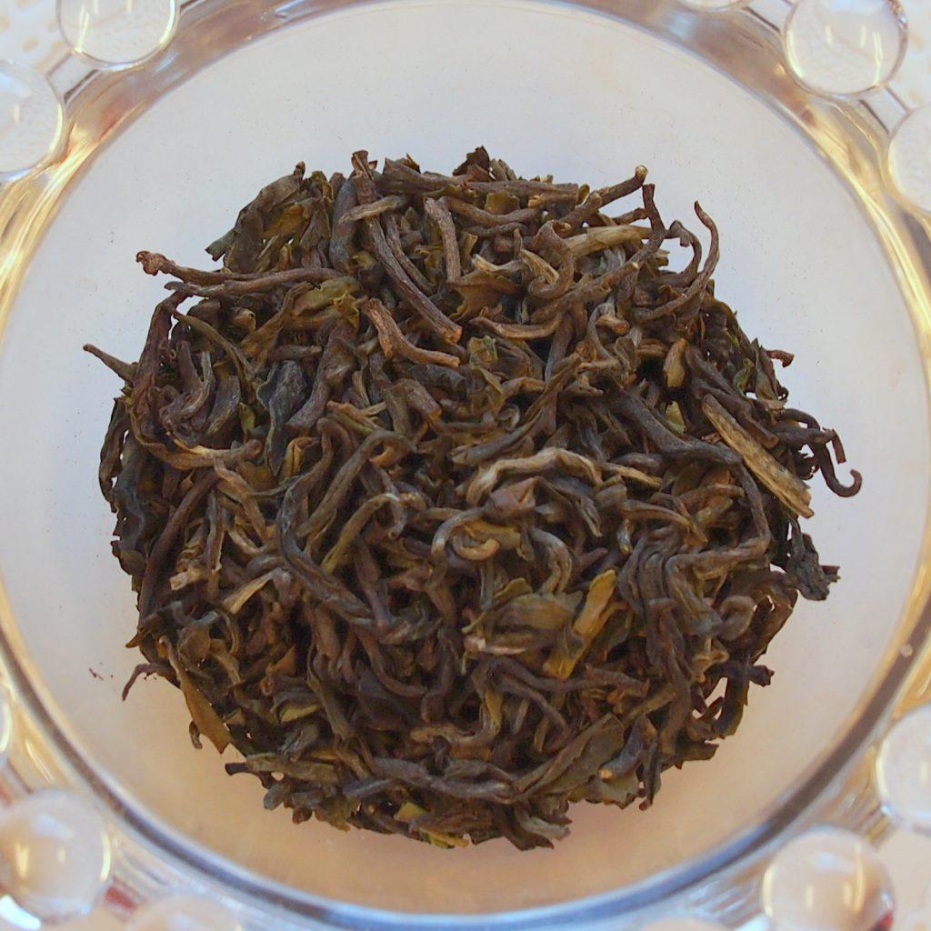 ダージリンファーストフラッシュの茶葉