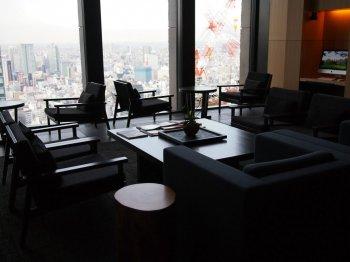 アマン東京ザ・ラウンジbyアマンのライブラリーの席