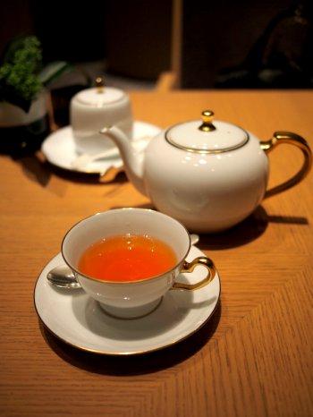 ザ・キャピトルホテル東急ORIGAMIのアフタヌーンティーの紅茶