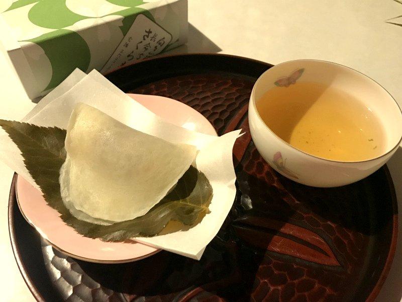 choumeiji sakuramochi Whole