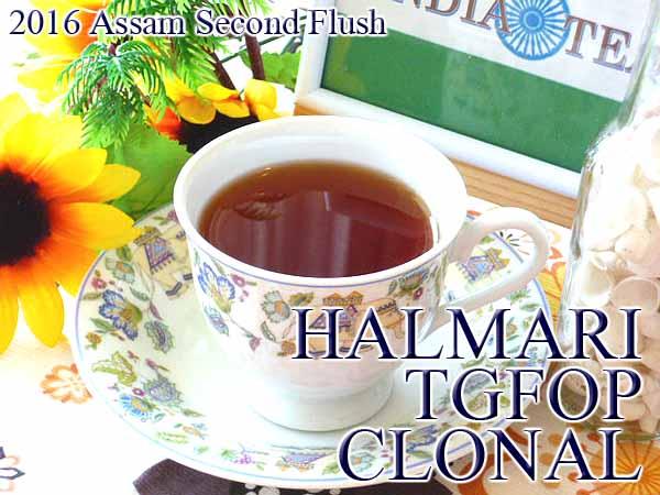 2016年 アッサム セカンドフラッシュ ハルマリ茶園 50g  ¥1,420