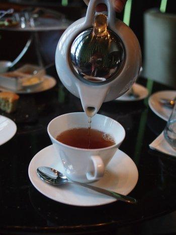 ザ・プリンスギャラリー紀尾井町のアフタヌーンティーの紅茶オリエンタルウーロン