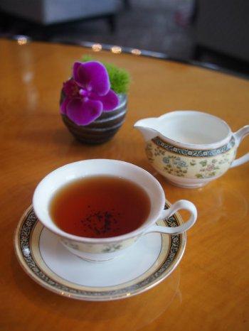 ザ・リッツカールトン ザ・ロビーラウンジのアフタヌーンティーの紅茶