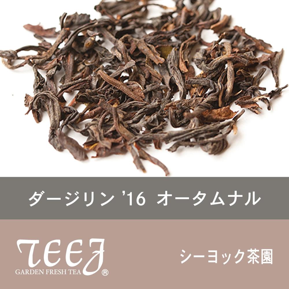 2016年ダージリンオータムナル シーヨック茶園 50g ¥1,296