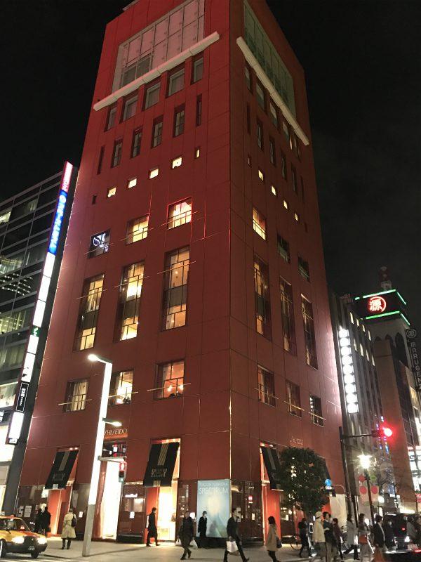 資生堂パーラー サロン・ド・カフェは東京銀座資生堂ビルの3Fにあります。