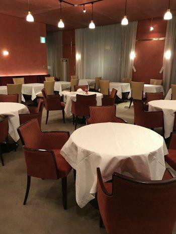 資生堂パーラー サロン・ド・カフェの店内