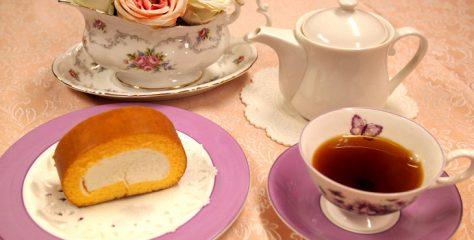 <お菓子と紅茶のマリアージュ>コロンバンの原宿ロールに合う紅茶は?