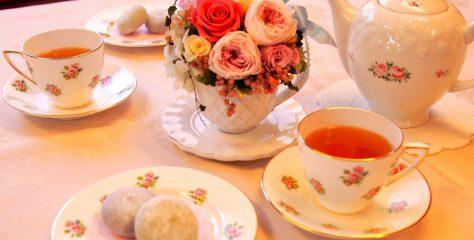 <お菓子と紅茶のマリアージュ>喜久水庵のクリーム大福「喜久福」に合う紅茶は?
