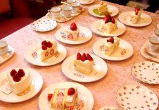 9種類の苺のショートケーキと紅茶のマリアージュ(組み合わせ)を探すティーパーティー