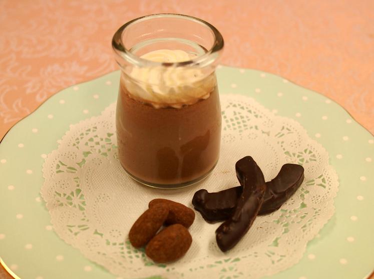 グリーンビーントゥバー チョコレートの「ビーントゥバープリン」